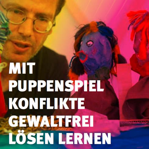 """pbi-Ferienprogramm: """"Puppet-Up - Mit Puppenspiel Konflikte gewaltfrei lösen lernen"""""""