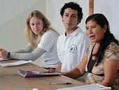 pbi-Freiwilllige setzen sich für die Menschenrechte in Guatemala ein