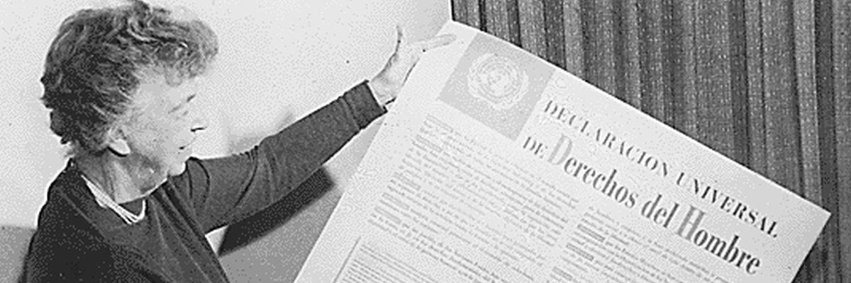 Eleanor Roosevelt_Allgemeine Erklärung der Menschenrechte