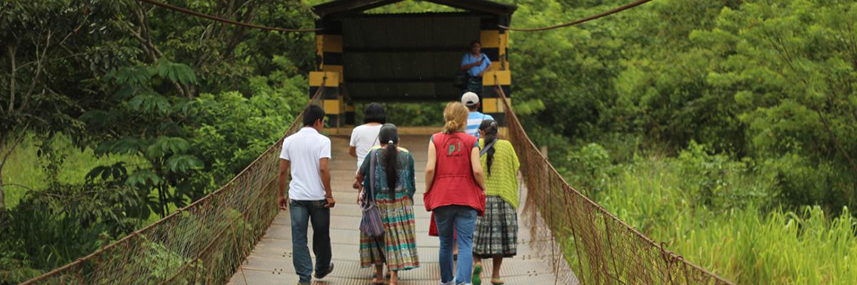 Freiwilligendienst im Ausland mit der Menschenrechtsorganisation peace brigades international