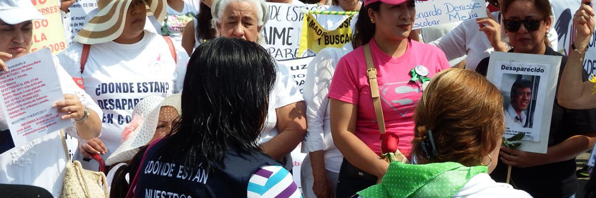 Dónde están nuestros desaparecidos - Gewaltsames Verschwindenlassen in Mexiko