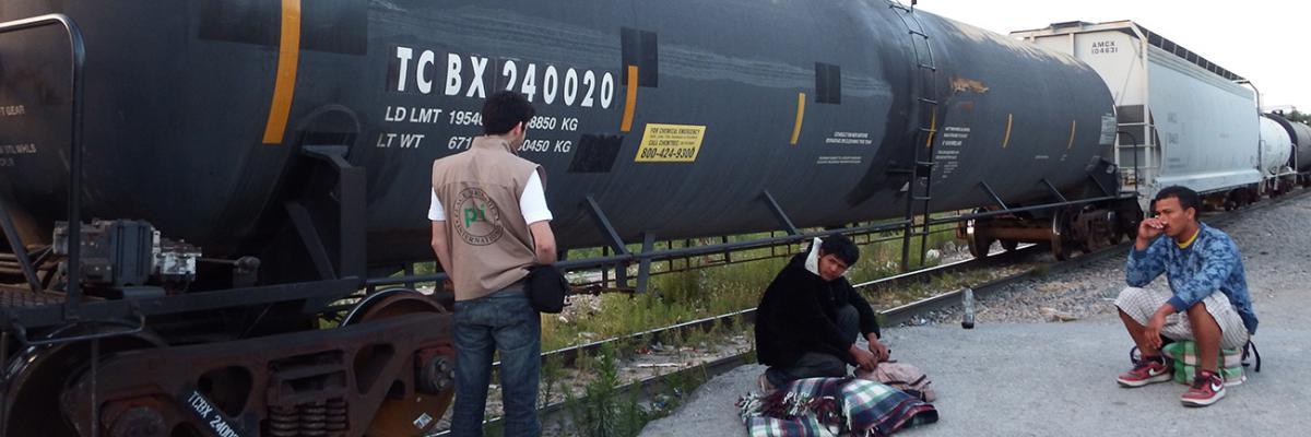 pbi begleitet mehrere Organisationen, die sich für Rechte von Migrant_innen einsetzen