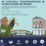 Kulturen des friedlichen Widerstands im Austausch – Klimaperspektiven im globalen Süden und Norden.
