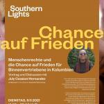 """""""Menschenrechte und die Chance auf Frieden für Binnenvertriebene in Kolumbien"""""""
