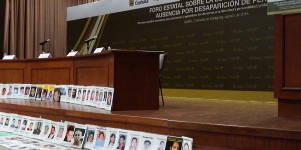 Straflosigkeit -  Zehntausende Menschen wurden in Mexiko in den letzten Jahren Opfer Gewaltsamen Verschwindenlassens